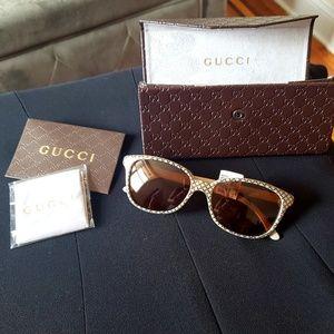 d602dc20f Gucci Accessories | Nwtauthentic Diamante Glitter Sunglasses | Poshmark